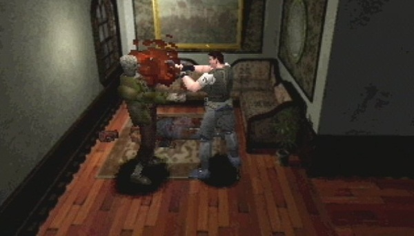 test retrogaming resident evil sega saturn playstation survival horror lageekroom blog gaming