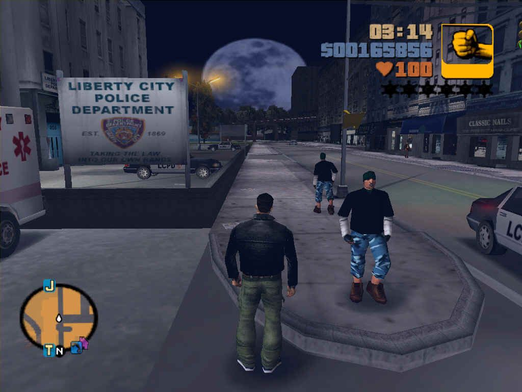 test retrogaming GTA III 3 blog jeux video lageekroom
