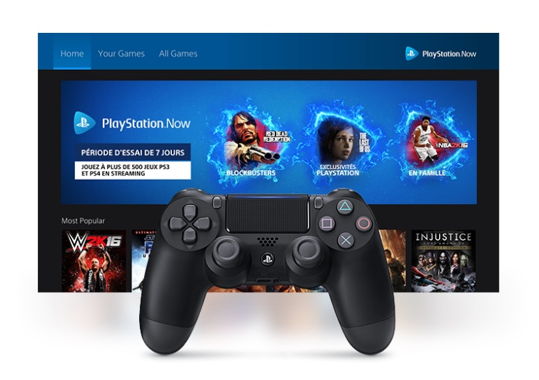 Playstation Now Playstation 4 Sony Streaming