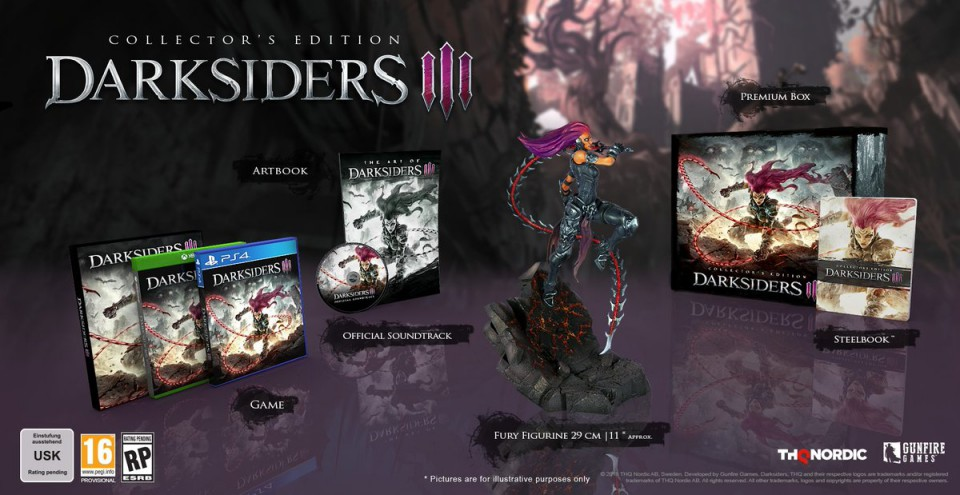 Darksiders 3 collector Lageekroom Blog Gaming