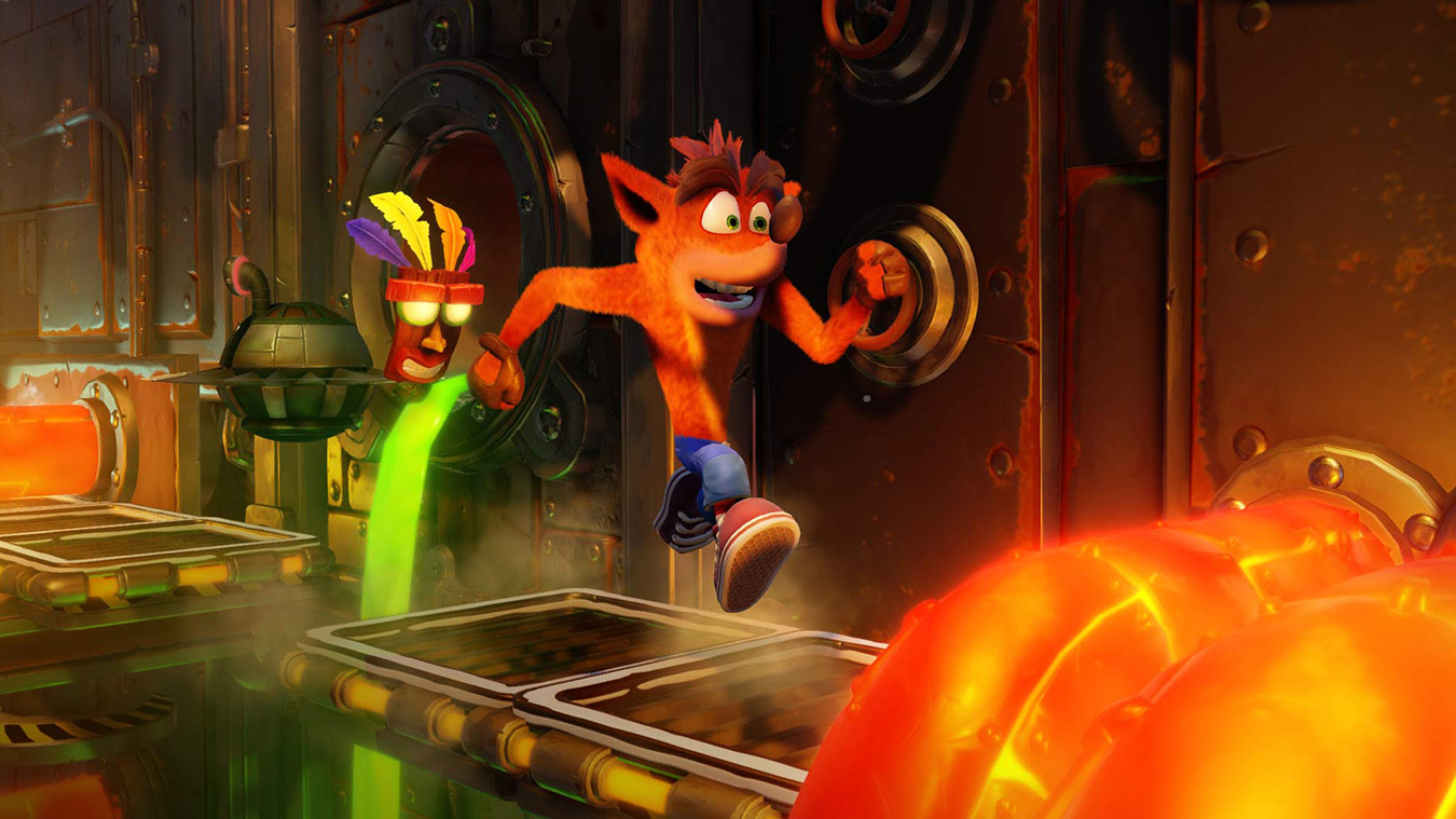 Test Xbox One Crash Bandicoot Lageekroom Blog gaming