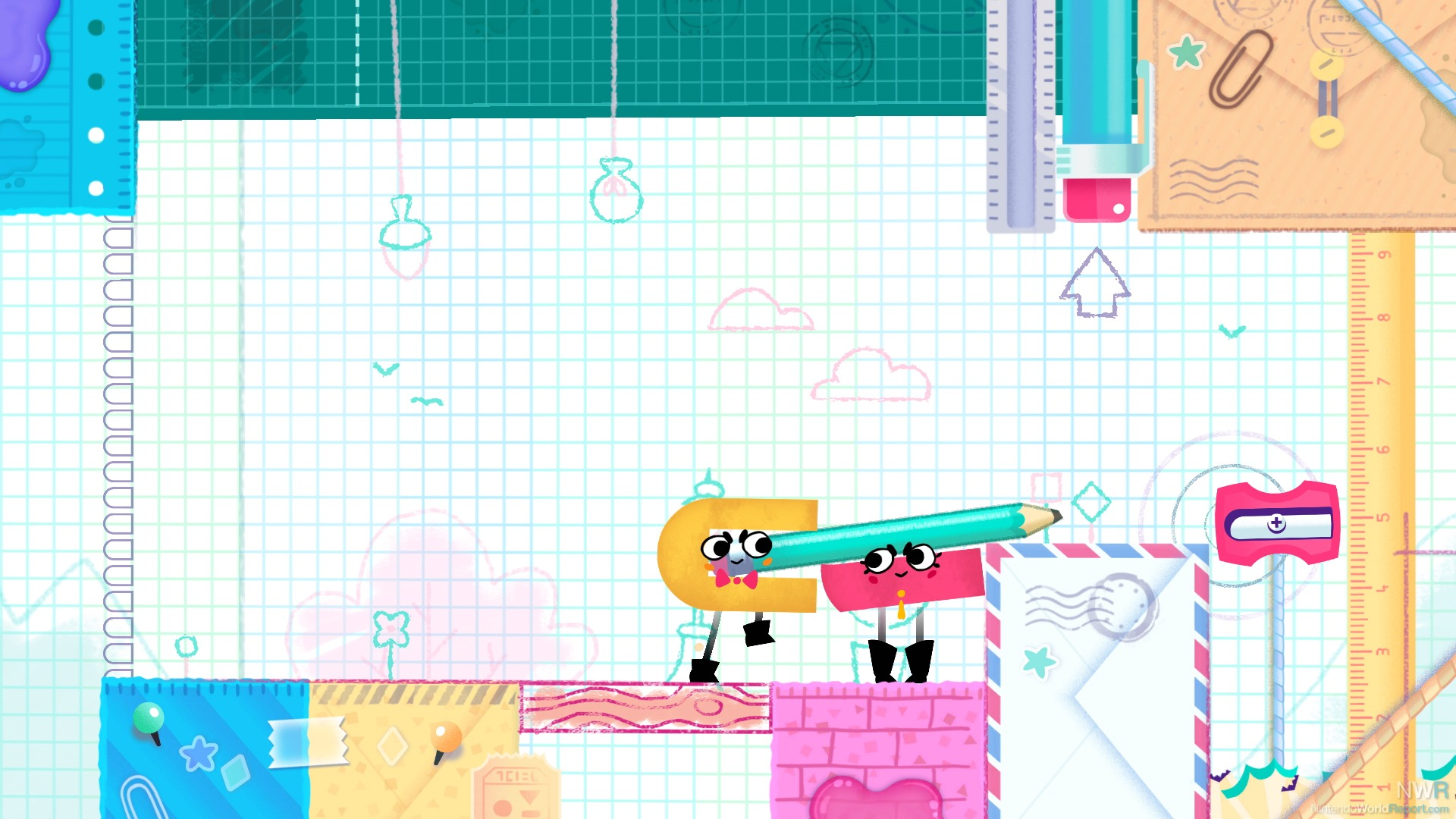 Test Snipperclips Nintendo Switch Lageekroom Blog Gaming