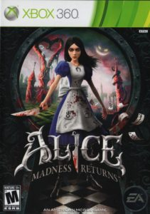 Alice Xbox 360 jaquette Lageekroom blog gaming