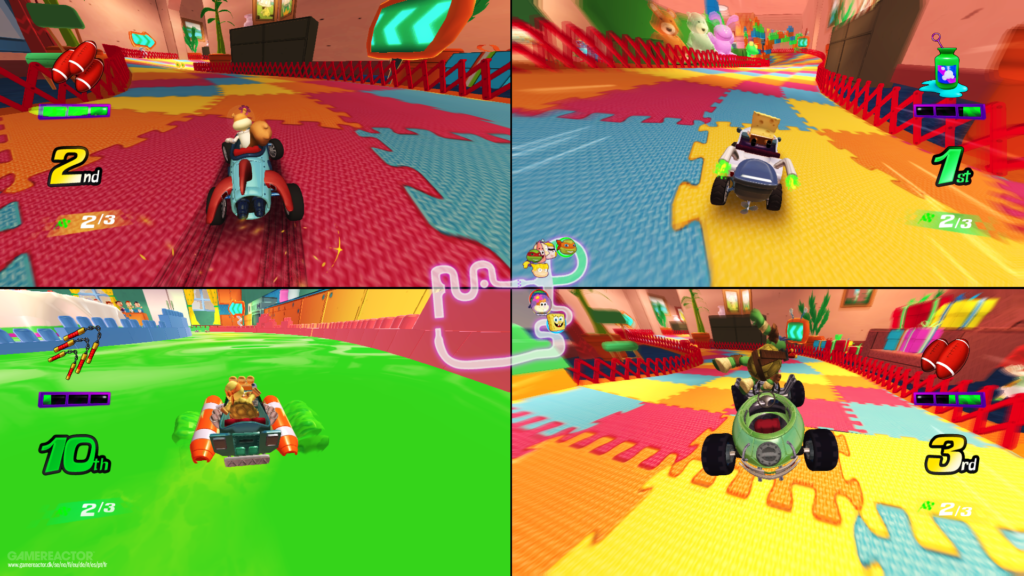 Nickelodeon Kart Racers Test Switch ps4 xbox one Lageekroom Blog Gaming