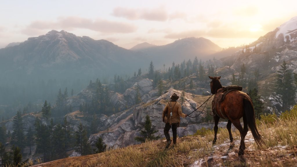 Red Dead Redemption 2 test Xbox One X Enhanced Lageekroom Blog Gaming
