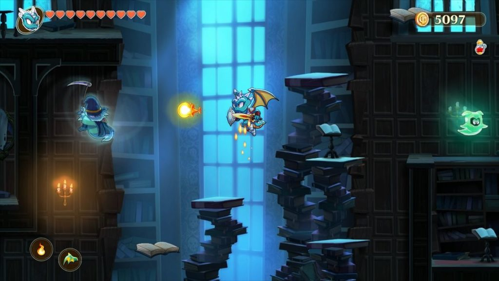TEST : Monster Boy and the Cursed Kingdom test xbox one nintendo switch lageekroom blog gaming