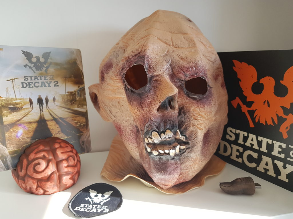 unboxing state of decay 2 collector blog gaming lageekroom xbox one x