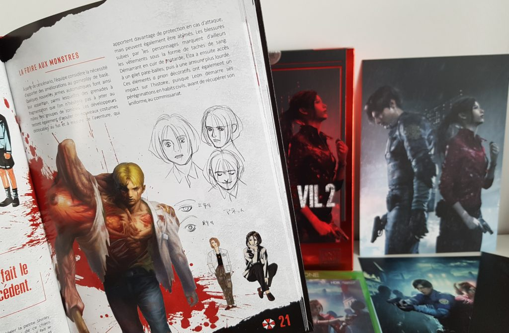 Unboxing édition limitée Resident EviI 2 Pix'n Love Capcom blog gaming lageekroom