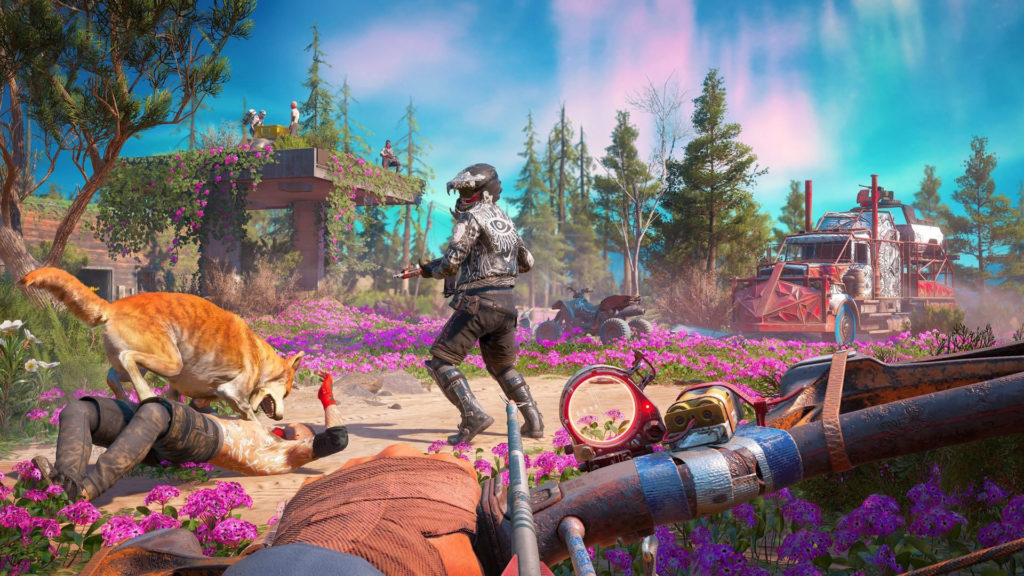 Far Cry New Dawn optimisé enhanced Xbox One X Ubisoft test avis blog gaming lageekroom