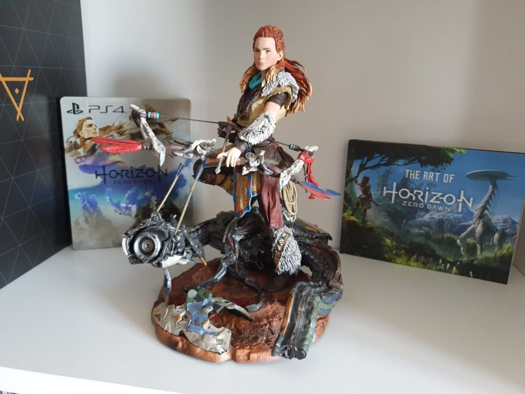 Achats hebdo blog gaming lageekroom geek room god of war horizon zero dawn world of final fantasy collector