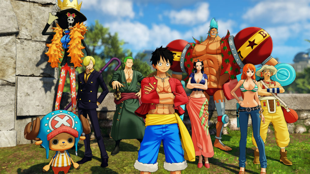 TEST Avis One Piece World Seeker Luffy open world ps4 blog gaming lageekroom namco