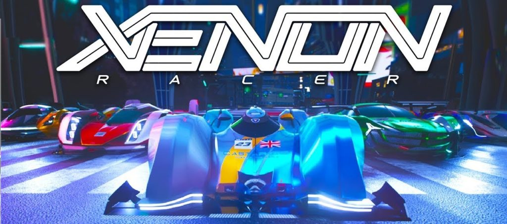 Test Avis Xenon Racer just for Games PS4 Pro blog gaming lageekroom Soedesco