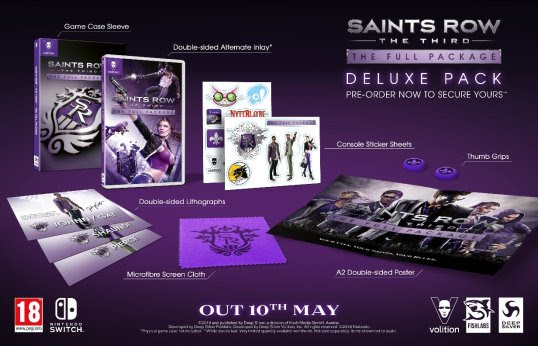 Saints Row: The Third en mode Full Package sur Nintendo Switch le 10 mai 2019