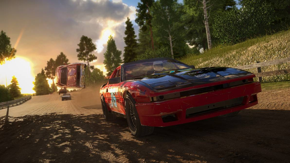 TEST : Wreckfest, on a froissé un max de tôle ! blog jeux video gaming lageekroom