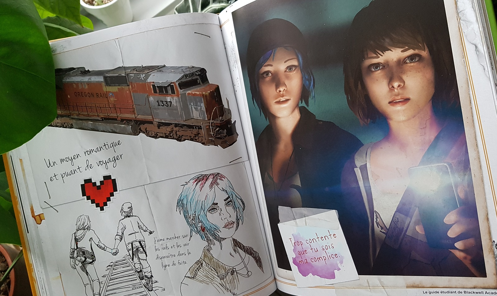 Avis Urban Comics : Life is Strange - Bienvenue à Blackwell Academy blog jeux video gaming lageekroom
