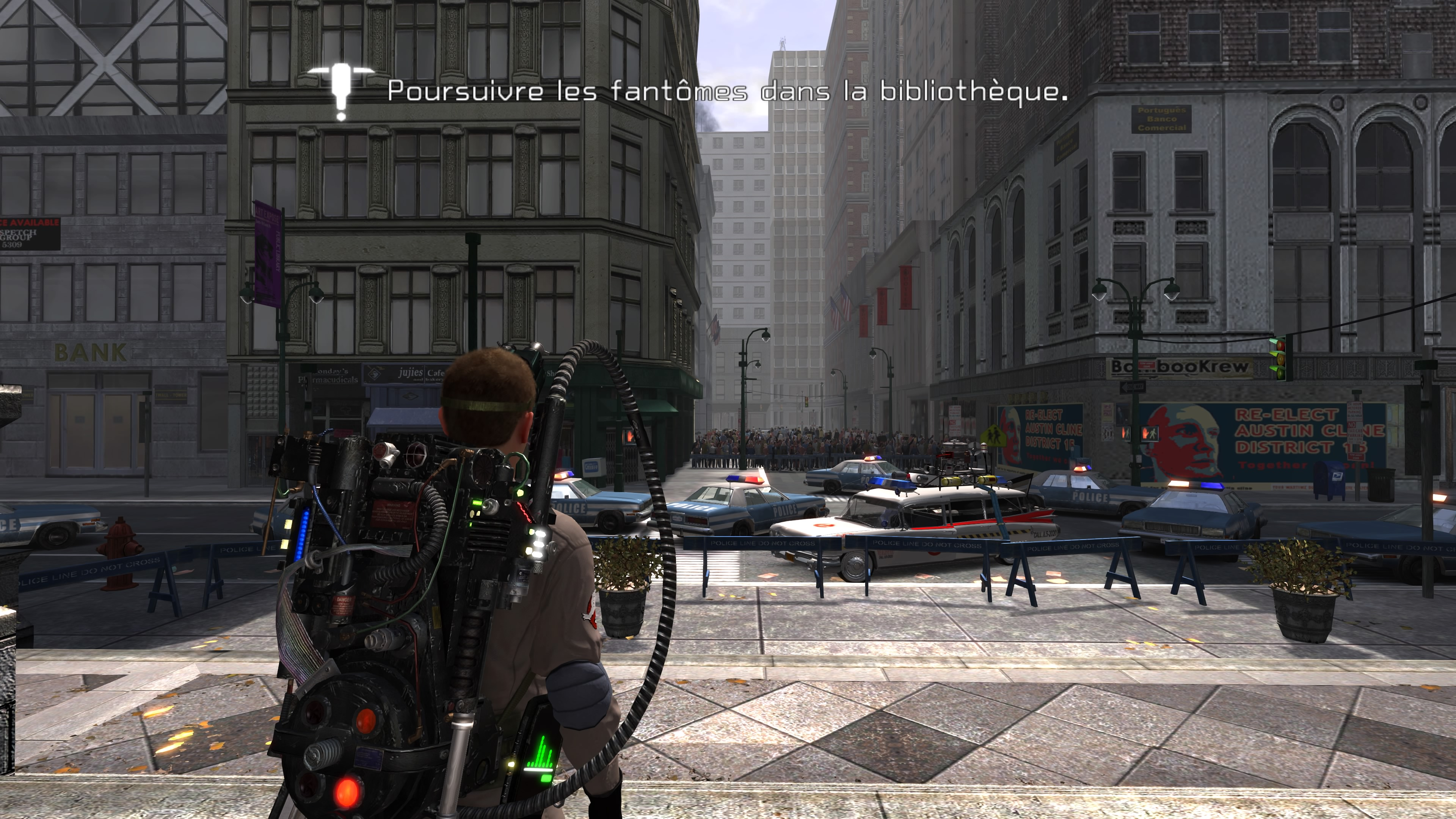 Ghostbusters: The Video Game Remastered test blog jeux video lageekroom