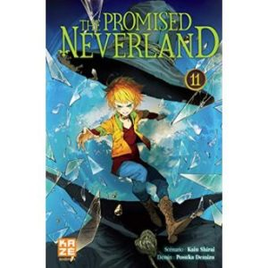 Avis Manga Kazé : The Promised Neverland – Tome 11