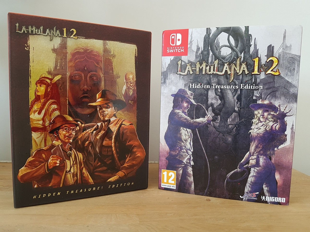 Unboxing : La-Mulana 1 & 2 -  Hidden Treasures Edition blog jeux video Lageekroom