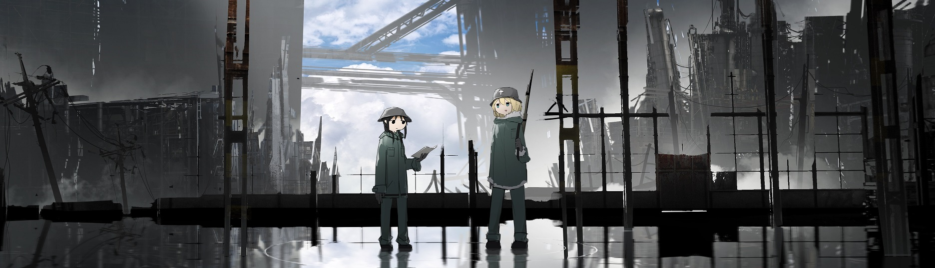 Avis Omaké Manga : Girls' Last Tour – Tome 4 blog manga lageekroom