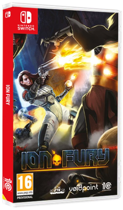 TEST : Ion Fury, version Nintendo Switch blog jeux video gaming lageekroom