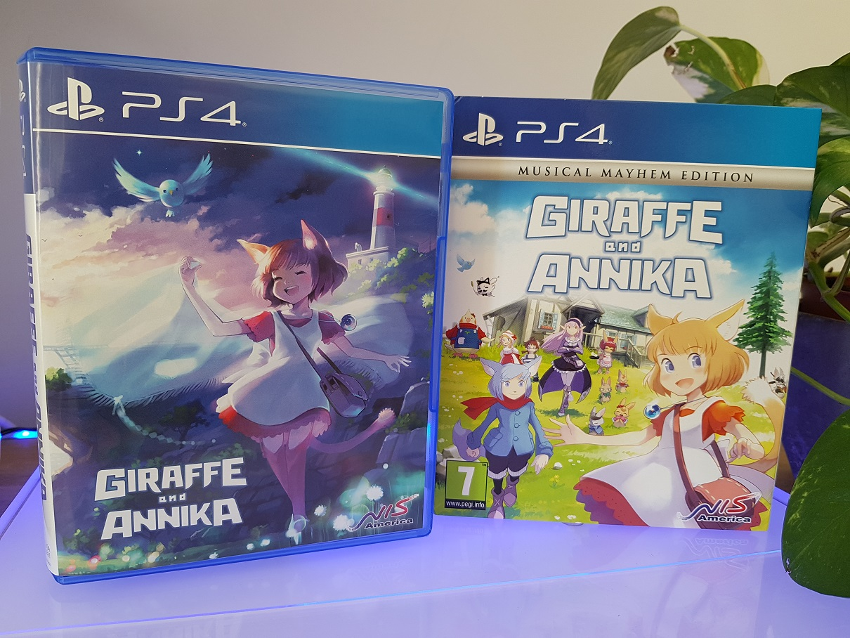 Unboxing : Giraffe and Annika Musical Mayhem Edition sur PS4 lageekroom