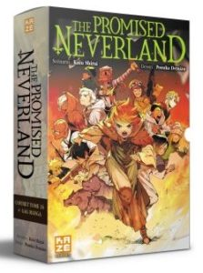 Avis Manga Kazé : The Promised Neverland - Tome 16 + photos du coffret collector