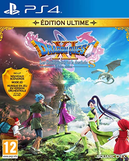 TEST : Dragon Quest XI S Edition Ultime (version PS4 testée sur PS5)