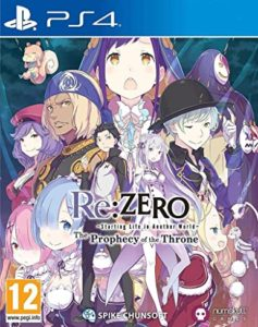 TEST : Re:ZERO : The Prophecy Of The Throne