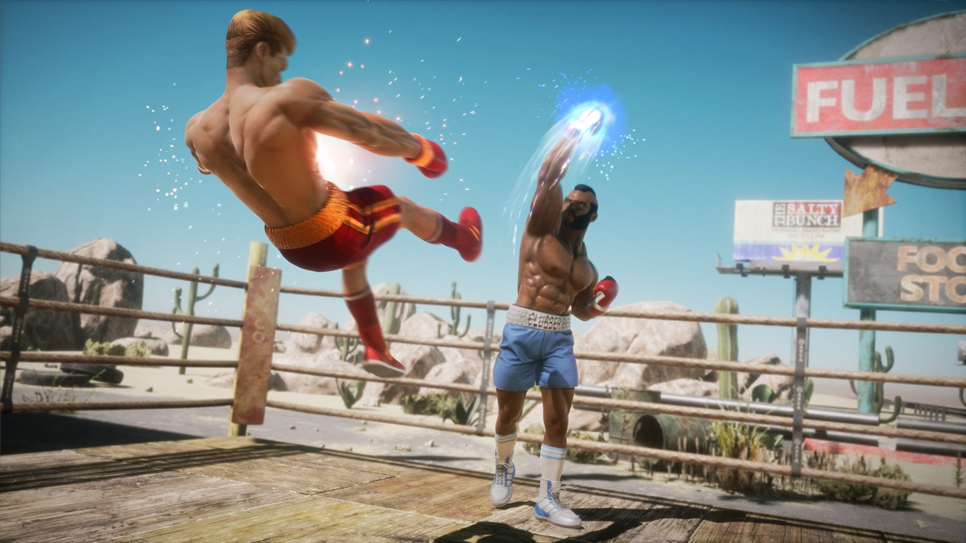 TEST : Big Rumble Boxing : Creed Champions blog gaming lageekroom