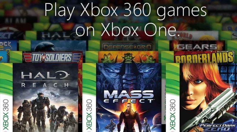 RÉTROCOMPATIBILITÉ Xbox 360 – Xbox One : notre sélection !