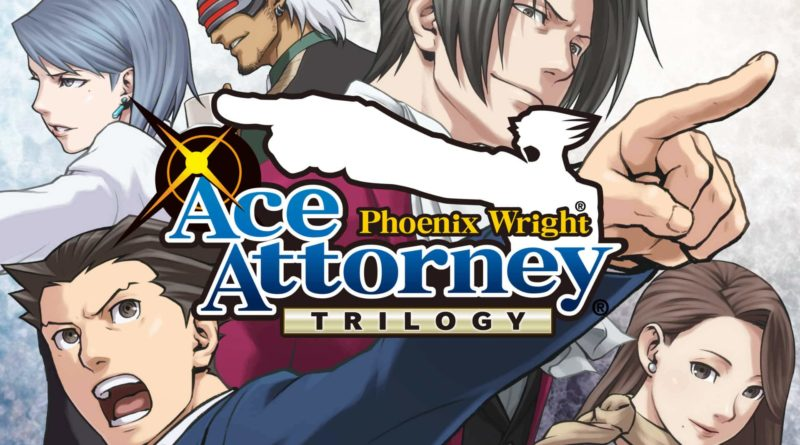 TEST : Phoenix Wright : Ace Attorney Trilogy