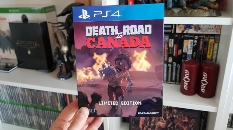 Unboxing : Death Road To Canada - Limited Edition, chez Play-Asia