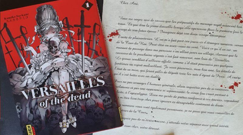 Avis Manga Kana : Versailles of The Dead - Tome 1