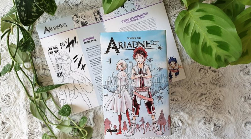 Avis Manga Glénat : Ariadne L'empire Céleste - Tome 1