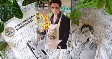 Avis Manga Kana : La Voie du Tablier – Tome 3