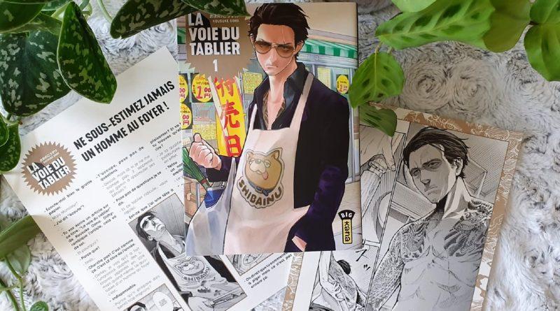 Avis Manga Kana : La Voie du Tablier – Tome 1