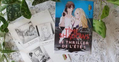 Avis Manga Kana : Time Shadows – Tome 1