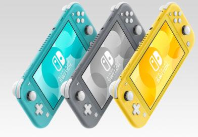 Nintendo officialise la Nintendo Switch Lite pour le 20 septembre