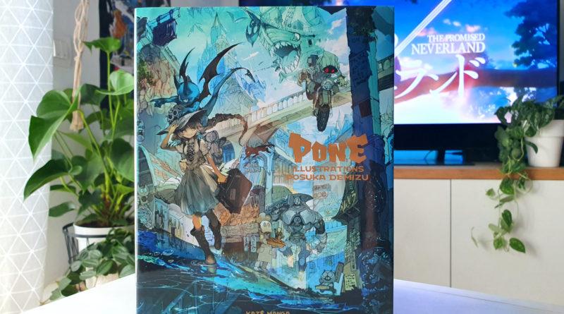 Avis Artbook Kazé : PONE et les superbes illustrations de Posuka Demizu blog jeux video