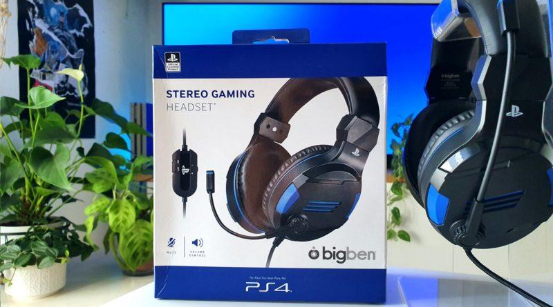 Avis – Casque Gaming officiel PlayStation 4 Bigben V3