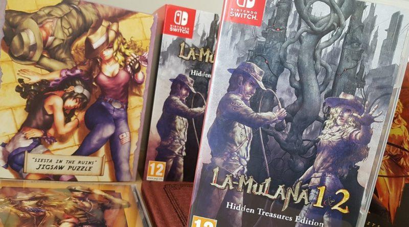 Unboxing : La-Mulana 1 & 2 - Hidden Treasures Edition blog jeux video Lageekroom