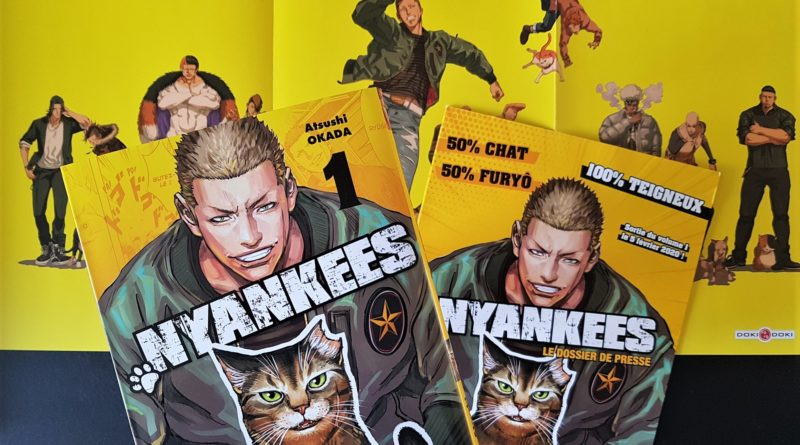 Avis Manga Doki-Doki : Nyankees – Tome 1