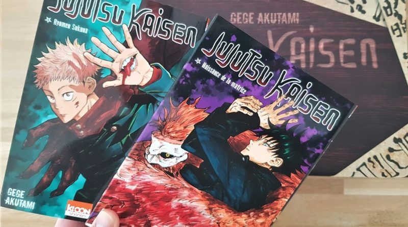 Unboxing Jujutsu Kaisen Press Kit Ki-oon blog manga lageekroom