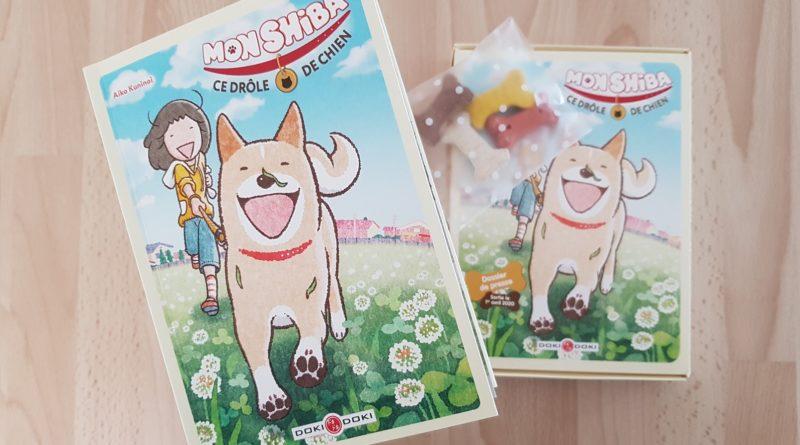 Avis Manga Doki-Doki : Mon Shiba, ce drôle de chien (one-shot)