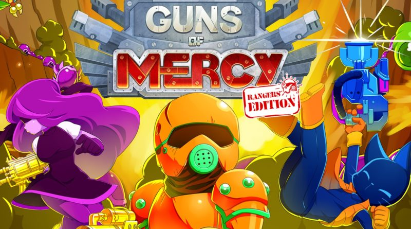TEST : Guns of Mercy Rangers Edition dégomme la Nintendo Switch blog jeux video gaming lageekroom
