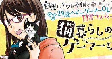 Avis Manga Doki-Doki : La Gameuse et son Chat – Tomes 1 et 2
