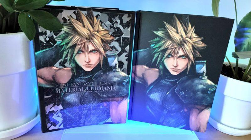 Avis : Final Fantasy VII Remake – Material Ultimania, chez Mana Books